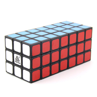 WitEden Unequal 3x3x7 Camouflage Magic Cube Professional Speed Puzzle 337 Cube Educational Toys for Children cubo magico