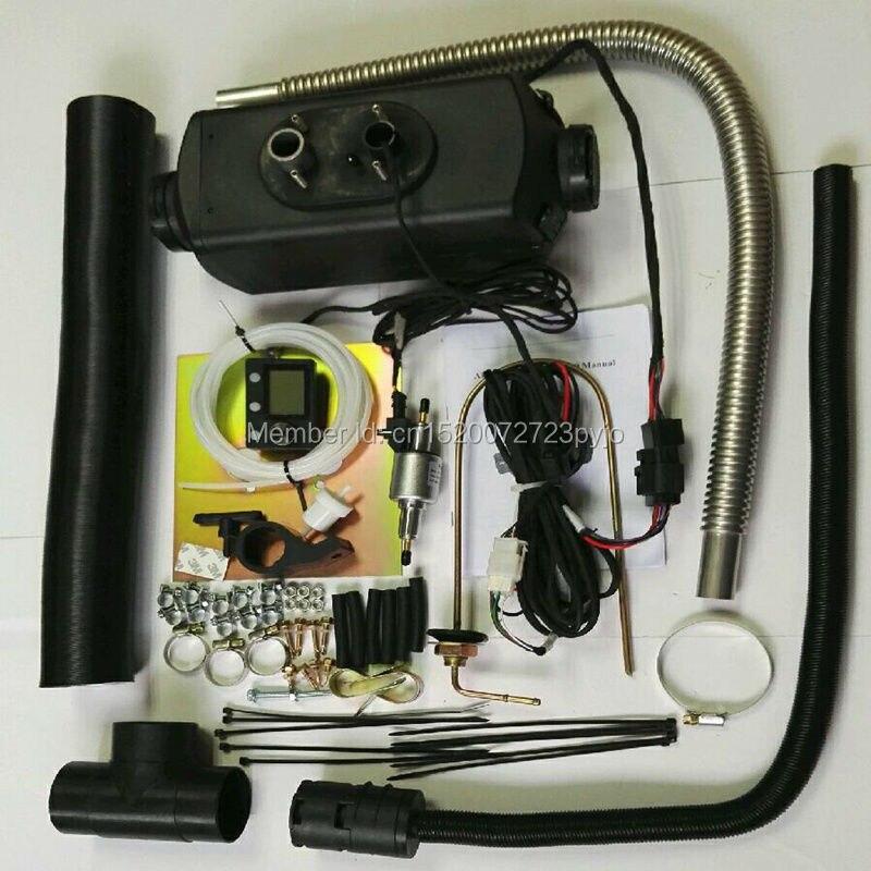 (Zdarma od společnosti DHL) -5KW 24V naftový ohřívač vzduchu pro nákladní člun Van RV- nahradit Eberspacher D4, dieselový ohřívač Webasto, ohřívač vírů