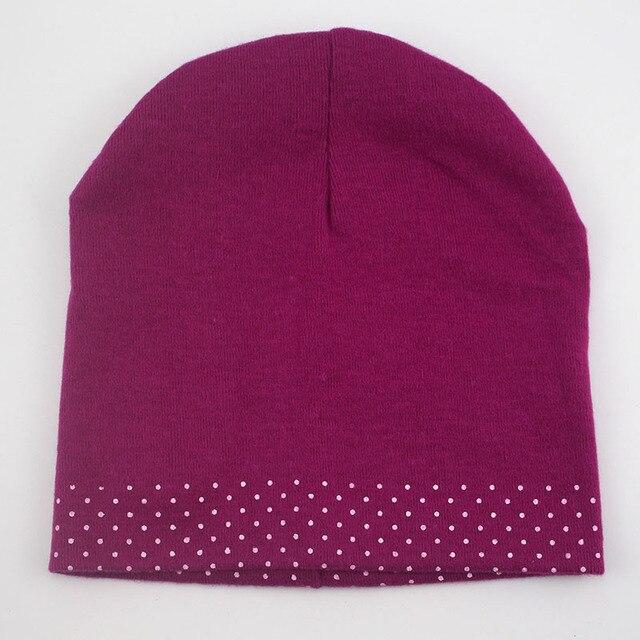 1 Pcs Cute Winter Autumn Newborn Crochet warm Cotton beanie Baby Hat Girl Boy Cap Children Bear Infant Kids Clothes 3