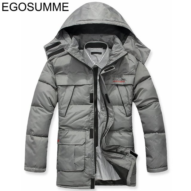 New discount down-padded coat men's jacket with hood fashion down parka men winter wool coat jacket men coat winter D012