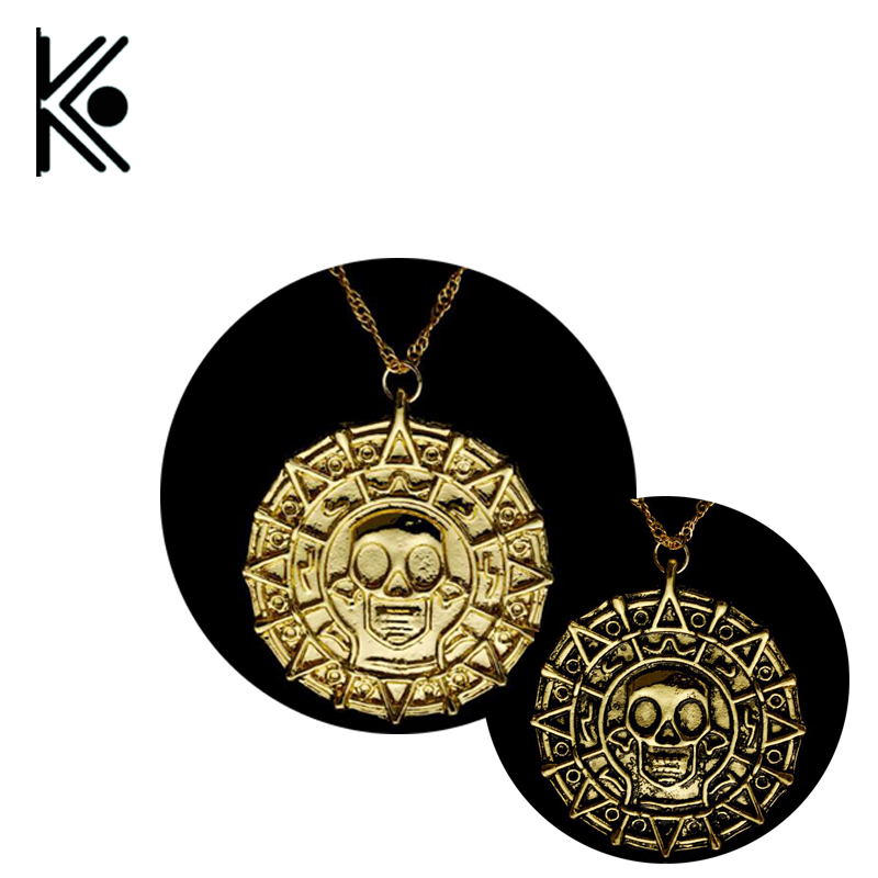 Pirates of the Caribbean Medallion Necklace
