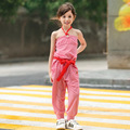 candydoll 2016 summer children's clothing piece pants Korean girls dot two sets factory direct