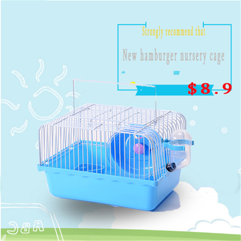 2017 Strongly recommend that New baby Hamster cage Travel carry hamster supplies <font><b>accessories</b></font>
