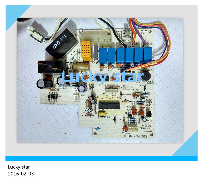 98% new for Gree Air conditioning computer board circuit board 5L53BY 300558381 GR5N good working 95% new for haier refrigerator computer board circuit board bcd 198k 0064000619 driver board good working