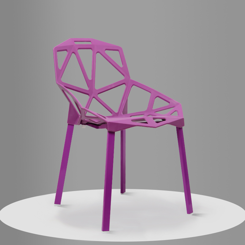 South American popular bar cafe chair French modern restaurant stool purple blue color free shipping