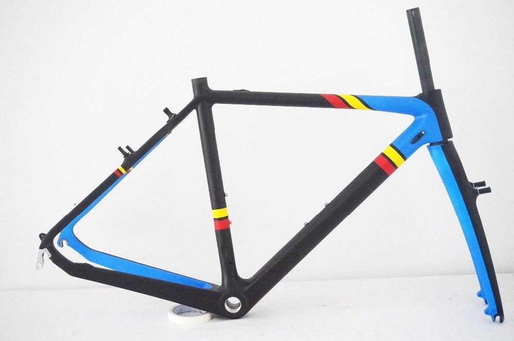 Cyclocross Carbon Bike Frame Road Bicycle Frame Cyclocross Frame V Brake
