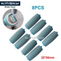 8 Pcs Blue Foot care tool roller Heads Kimisky pedicure herramientas hard roller Heads for scholls size  Free Shipping