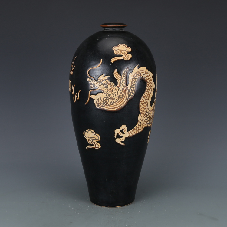 Home Decorators Collection Coupon Free Shipping: Antique SongDynasty Porcelain Vase,Jizhou Kiln Black Glaze