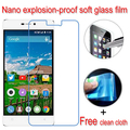 never broken Nano Explosion-proof Soft Glass Clear Screen Protector Protective Lcd Film For Highscreen Power Five Pro