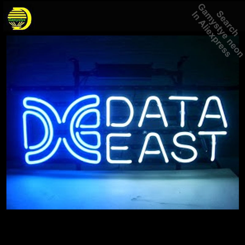 Neon Sign for Data East Logo Neon Bulb sign handcrafted neon signboard Bright icons luces neon wall lights anuncio luminosNeon Sign for Data East Logo Neon Bulb sign handcrafted neon signboard Bright icons luces neon wall lights anuncio luminos