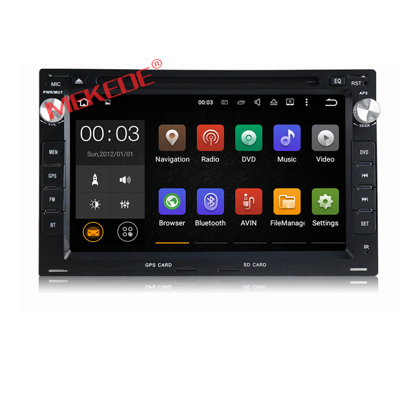 Free shipping 2GB RAM Android6 Car DVD For VW Golf4 Polo PASSAT B4 B5 Bora for Octavia1 superb WiFi OBD car stereo 2din golf4