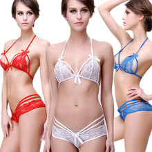 9220a9182a Women Sexy Babydoll Hot Erotic Lingerie Sets Exotic Apparel Sexy Lace Shelf  Bra Set G-