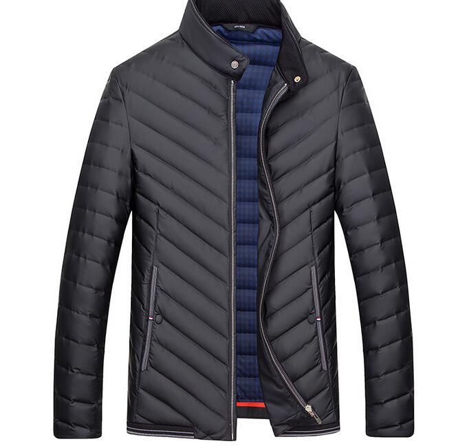 100% Wahr M-3xl Verkauf Wie Heiße Kuchen 2019 Winter Männlichen Neue Kultivieren Unten Mode Jacke Mantel