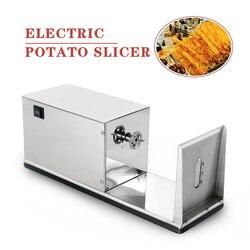 ITOP Электрический Twister Tornado спиральный резак для картофеля нержавеющая сталь фри резак 110 В 220 В овощные фруктовые инструменты