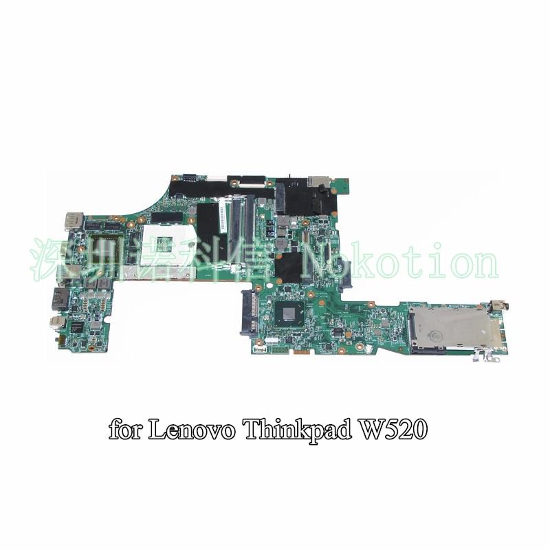 NOKOTION LKN-3 WS MB 48.4KE27.051 FRU 04W2029 For lenovo Thinkpad W520 laptop motherboard QM67 Q3 Quadro 2000M