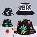 2016 Fashion Women Bob Sun Hat Letter Floral Hat Cap Fishing Fisherman Bucket Hats For Caps Men Hip Hop Chapeau