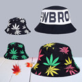 2016 mujeres de moda Bob carta sombrero Floral del casquillo del sombrero pesca pescador sombreros de cubo para Caps Men Hip Hop Chapeau