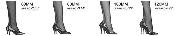 high heel model
