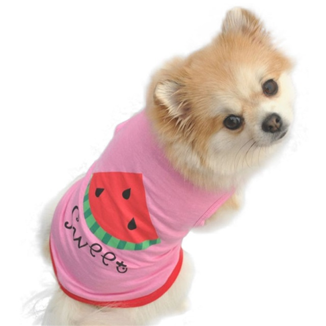 Aliexpress.com : Buy Summer Cute Dog Clothes Puppy Pet Cat Clothes ...