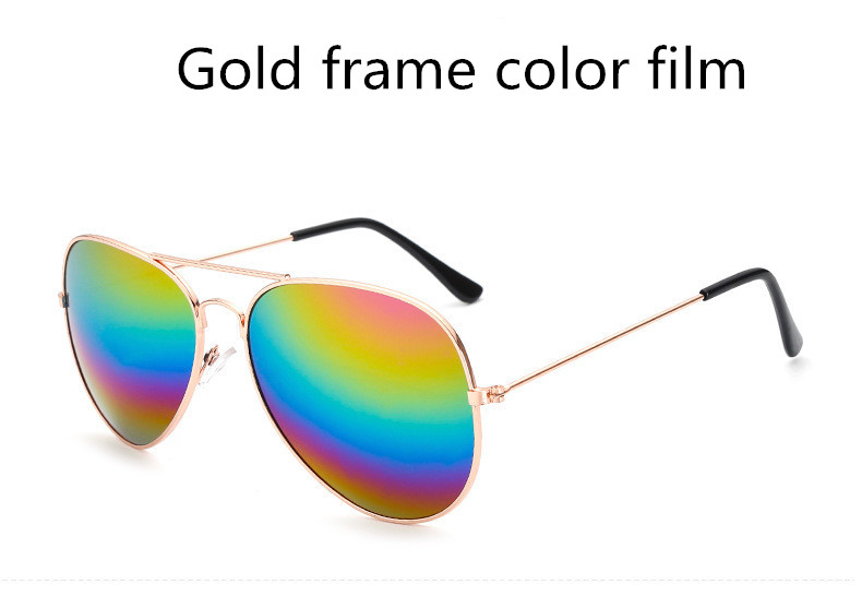 ASUOP2018 new ladies retro cat eye sunglasses luxury brand fashion men's pilot glasses UV400 night vision goggles night vision goggles (17)
