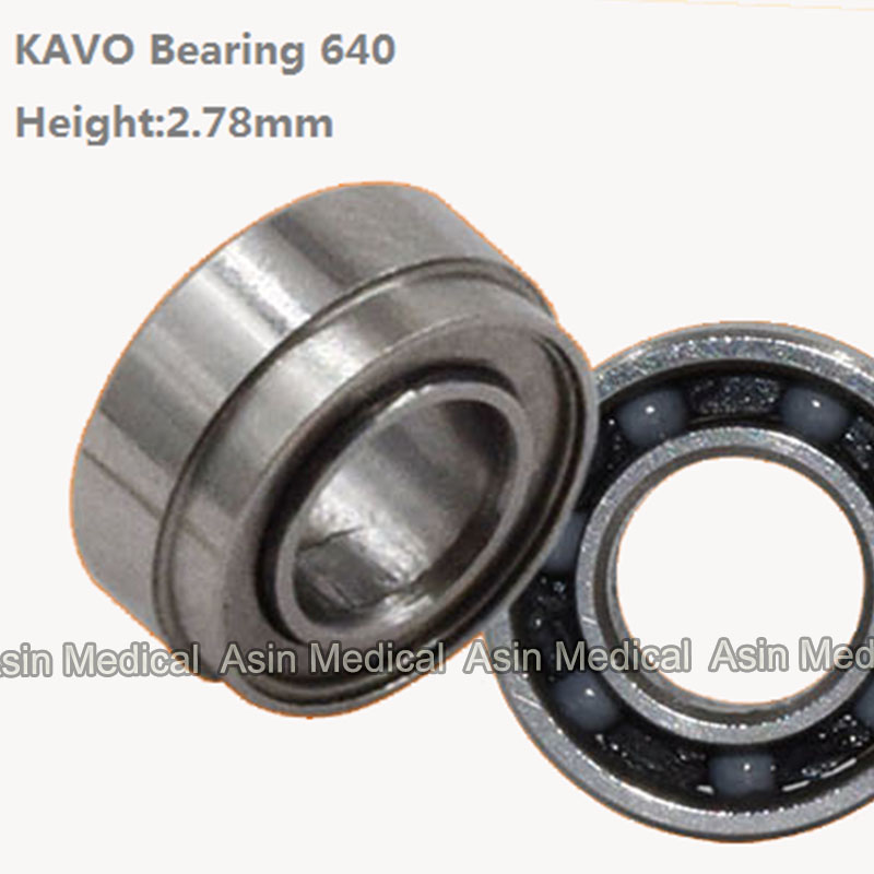 SR144TL High speed handpeice bearing spare parts SR144 Bearing ceramic Bearing Kavo handpiece groove stepped Bearing