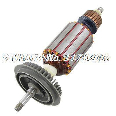 AC 220V Motor Rotor Armature Part for Bosch GWS 6-100 electric cutting machine armature part motor rotor ac 220v for makita 3612br