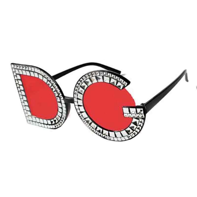 de467e5f349 ... New Luxury Italy Diamond Sunglasses Women Brand Design 2018 D  Personality G Sun Glass For Women ...