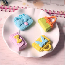 1 pcs /bag Creative cartoon kawaii Girl handbag rubber eraser creative stationery office school supplies papelaria