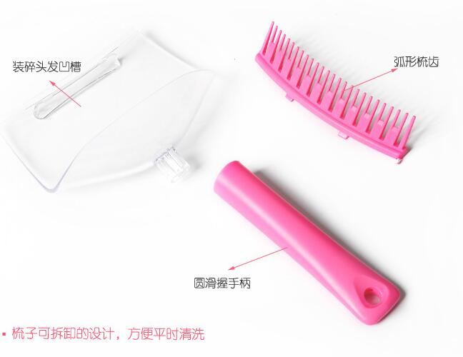 DIY Hair Bangs Fringe Cut Comb Clip Home Fashion Portable Trimmer Tool Kit Clipper Guide CANDYKEE