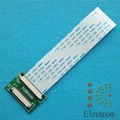 50 Pin 40 Pin ZIF 0.5 мм Разъем Адаптер Для TTL LCD EJ070 EJ080NA 2 компл./лот