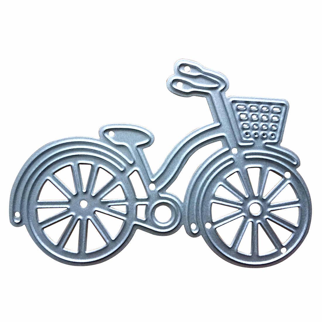 Nova chegada de corte de bicicleta dados de corte de metal estênceis para diy scrapbooking dados decorativo artesanato álbum de fotos gravação