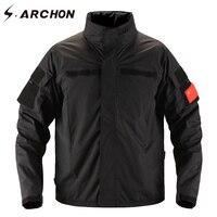 S ARCHON Assault Waterproof Military Men Jacket Casual Multi Pocket Windbreaker Tactical Jackets Men Spring Windproof