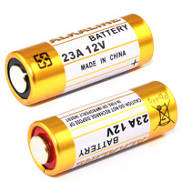2PCS 23A 12V dry alkaline battery 23AE 21/23 A23 23GA MN21 for doorbell,car alarm,walkman,car remote control etc