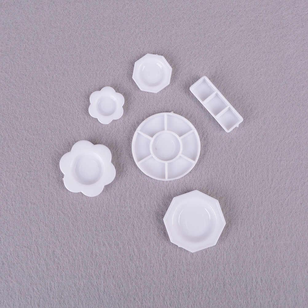 33 Stks/set Mini Servies Miniaturen Cup Plaat Schotel Decor Speelgoed Voor Kinderen Meisjes Geschenken Voor Kinderen Pop Accessoires Keuken Acryl