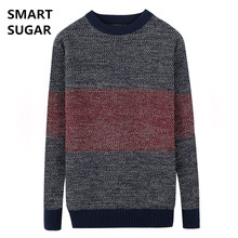 SMART SUGAR 2017 Sweater Men Casual Sweaters Mens O-Neck Knit Warm Pullover masculino sueter Pull homme jersey Male Polo Sweater