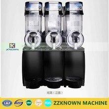 High quality double tank 45L commercial stainless steel slush machine duplex slush machine Snow grains smoothies machine