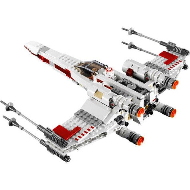 819 pcs Star Wars Series 05145 05004 X-Wing Starfighter Compatible legoing Star Wars Series legoing 75218 Building Blocks Toys