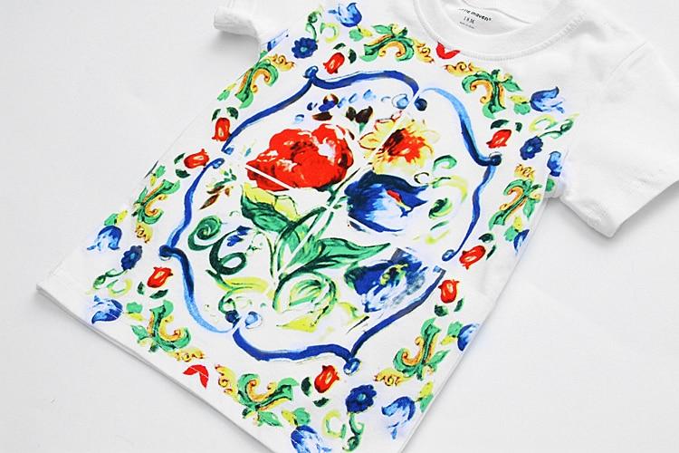 Літня футболка Дитяча одяг Мода - Дитячий одяг - фото 5