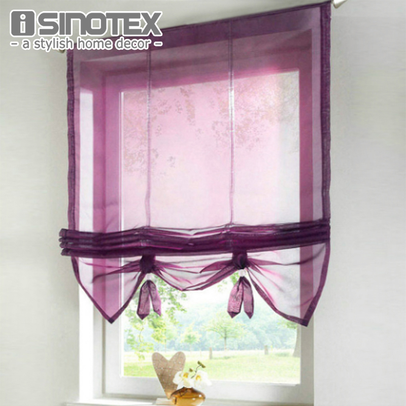 German Style Liftable Window Curtains Nice Sheer Voile