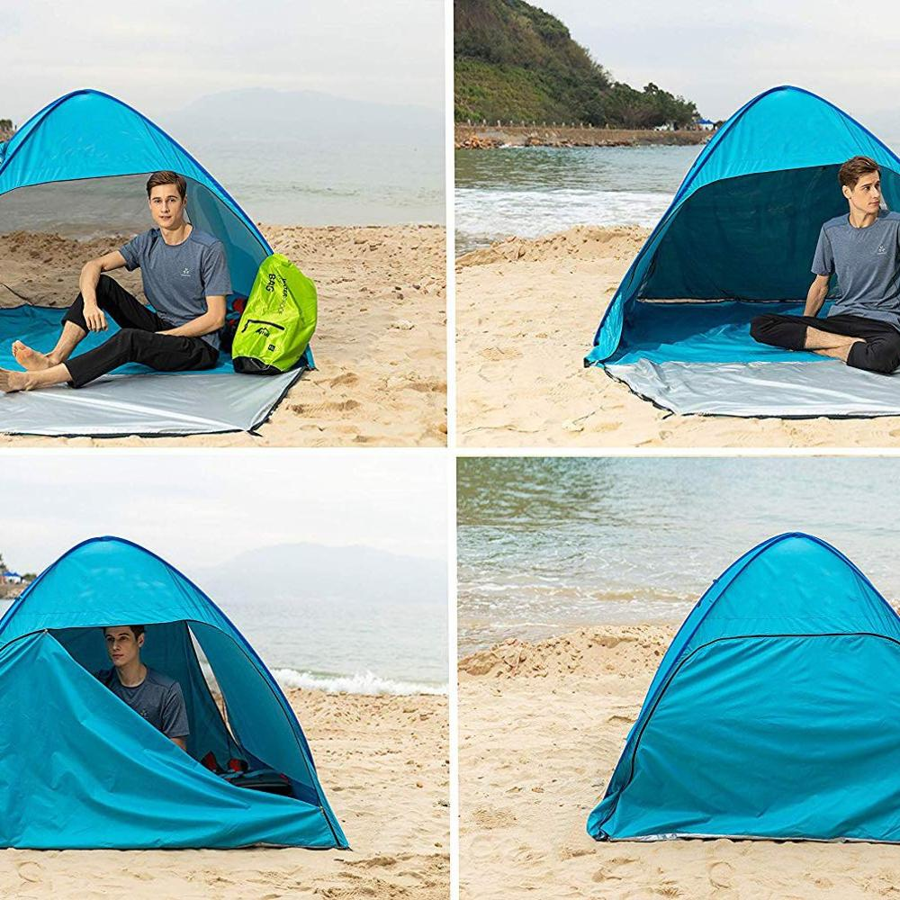 Outdoor Camping Speed Open Beach Account Free Installation Beach Tent Portable Camping Tent Sunshade Tent
