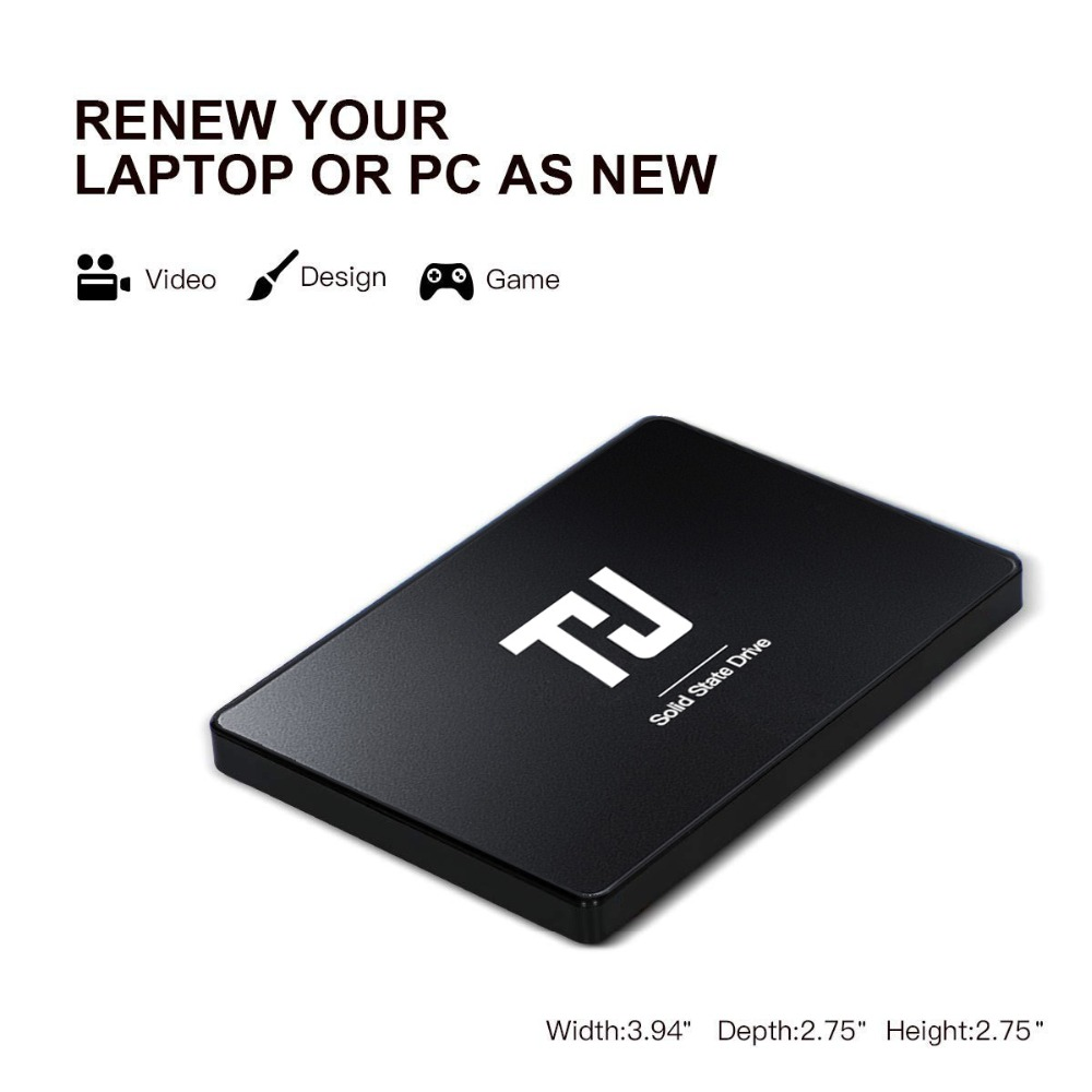 """Image 2 - THU SSD DISK HDD 2.5"""" SATA3 SSD 120GB SATA III  7mm Internal Solid State Drive for Desktop Laptop PC-in Internal Solid State Drives from Computer & Office"""