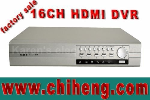 H.264 HDMI 16ch CCTV DVR recorder,standalone digital 16ch realtime video recorder.PTZ/VGA/Alarm. support(android phone/iphone)