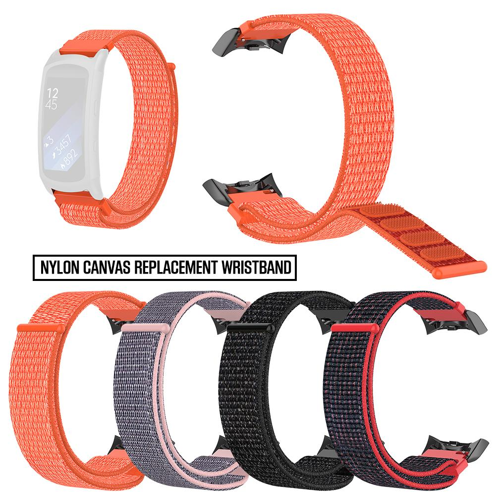 Nylon Watch Band Replacement Strap Wristband For Samsung Gear Fit2 SM-R360 SM-R365 Gear Fit 2 Pro Smart Bracelet Accessories