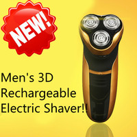 2016 Brand New Rotary Men S 3D Rechargeable Washable Cordless Electric Shaver Razor Deluxe Electric Shavers