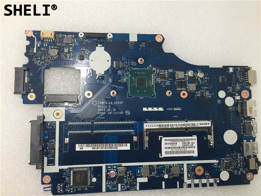 SHELI For font b Acer b font aspire E1 510 Laptop motherboard With N3520 LA A621P