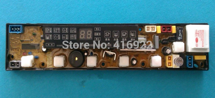Free shipping 100% tested for washing machine board xqb56-8856 original motherboard ncxq-qs09fb on sale 100% tested for washing machine board wd n80051 6871en1015d 6870ec9099a 1 motherboard used board
