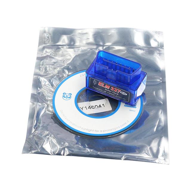 OBDII Scanner ELM327 1.5 Car Diagnostic Tool ELM 327 PIC18F25K80 Bluetooth V1.5 ELM327 OBD2 Bluetooth Code Reader OBD II V1.5