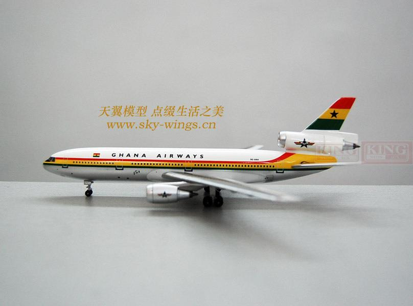 AV4DC1001 Aviation Garner 9G-ANA 1:400 DC-10-30 commercial jetliners plane model hobby теплица g 1001 c greenstorage