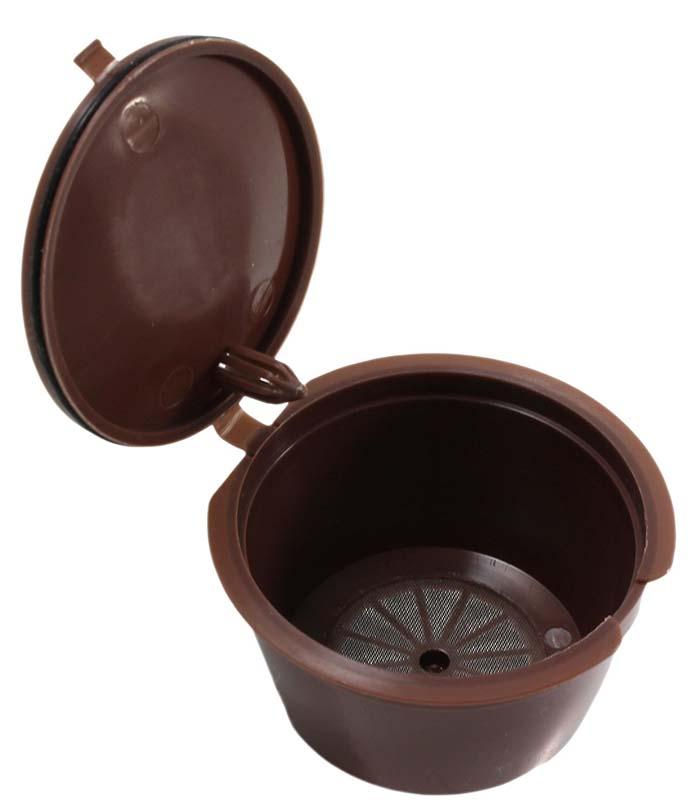 Kuća i bašta ... Kuhinja i trpezarija ... 32657039598 ... 2 ... 3pcs/pack use 150times Dolce Gusto Coffee Capsule Plastic Capsule Refillable Reusable Compatible with Nescafe Dolce Gusto refill ...