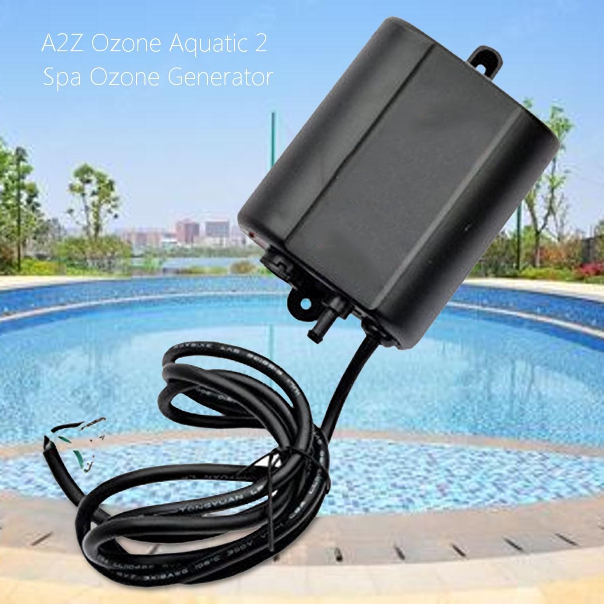 3W 100 250VAC 300mg h A2Z Ozone Aquatic 2 Spa Ozone Generator Air Purifier